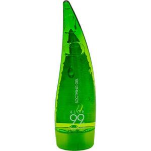 """Увлажняющий гель алоэ вера универсальный несмываемый Aloe 99% Soothing Gel 55 мл """"Holika Holika"""""""
