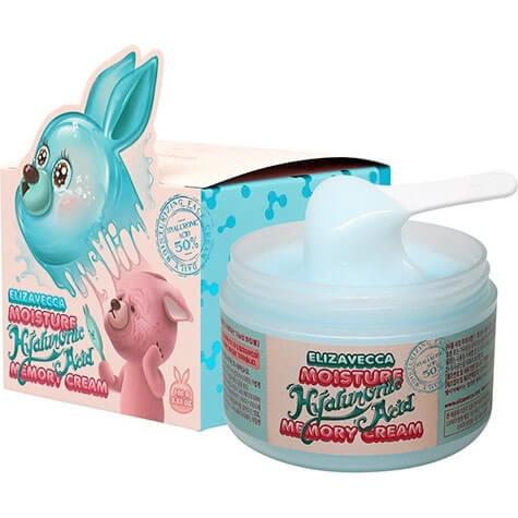 """Увлажняющий крем для лица c гиалуроновой кислотой Moisture Hyaluronic Acid Memory Cream """"Elizavecca"""""""