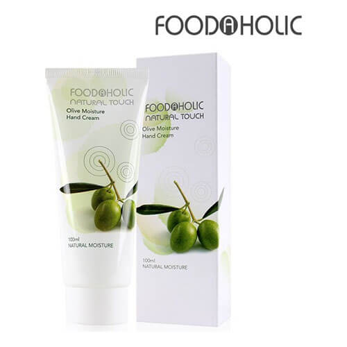 """Крем для рук увлажняющий с экстрактом оливы Olive Moisture Hand Cream """"FoodaHolic"""""""