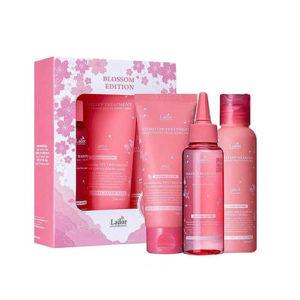 """Весенний набор для волос шампунь+маска+филлер Blossom Edition """"La'dor"""""""