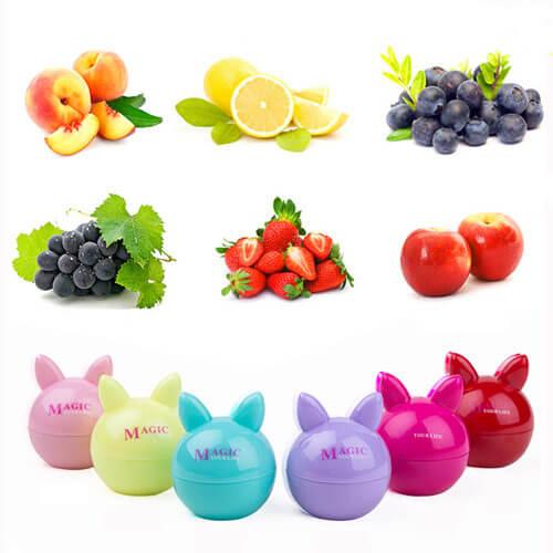 Бальзам для губ с экстрактами фруктов