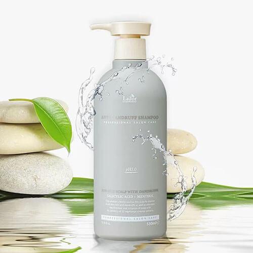 Слабокислотный шампунь против перхоти для чувствительной кожи головы Anti Dandruff Shampoo